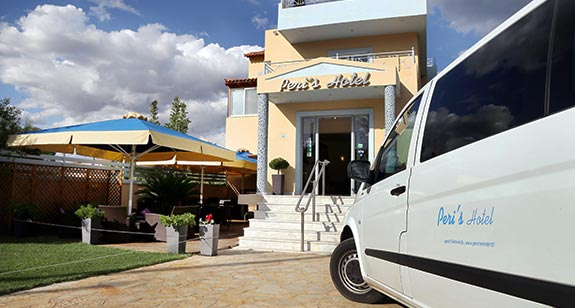 24h Transfer Service From To Athens Airport With Our Mercedes Mini Van