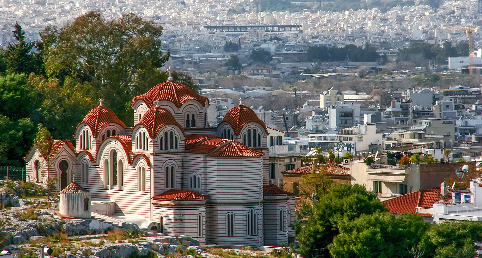 Athens City in Greece